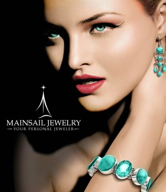 MainSail Jewelry logo design